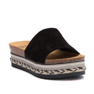 LFL Platform Slide Sandal